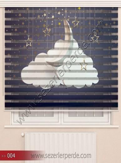 Poster Baskılı  Zebra Perde  SZR- 1073