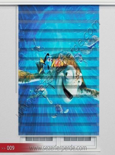 Poster Baskılı  Zebra Perde  SZR- 1076