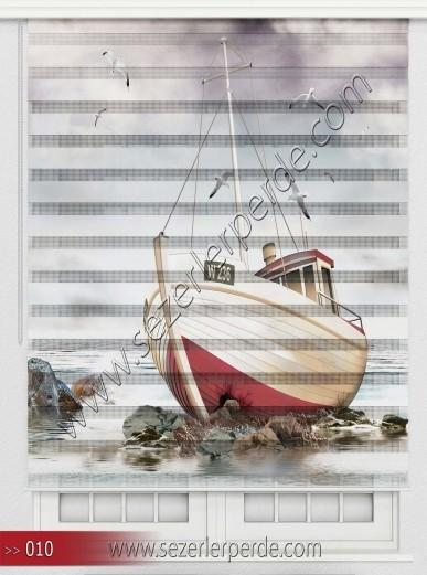 Poster Baskılı  Zebra Perde  SZR- 1077