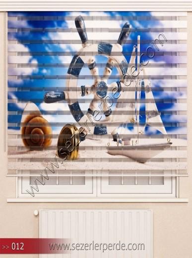 Poster Baskılı  Zebra Perde  SZR- 1079