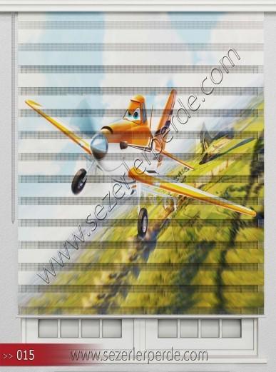 Poster Baskılı  Zebra Perde  SZR- 1082
