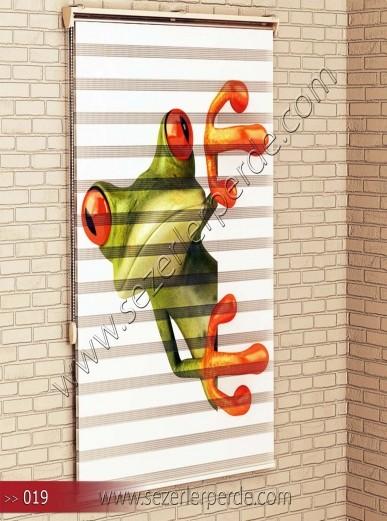 Poster Baskılı  Zebra Perde  SZR- 1085