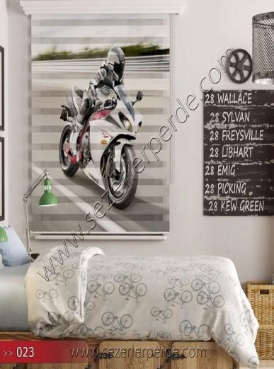 Poster Baskılı  Zebra Perde  SZR- 1088