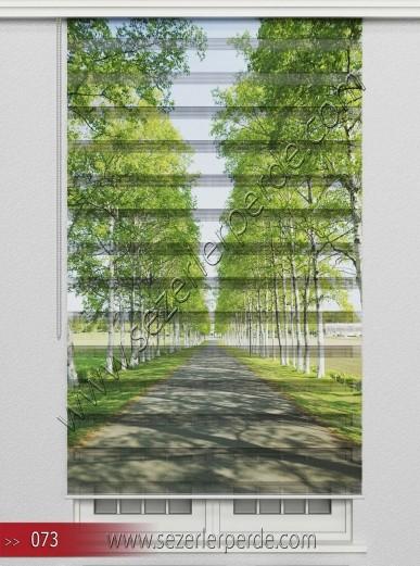 Poster Baskılı  Zebra Perde  SZR- 1111