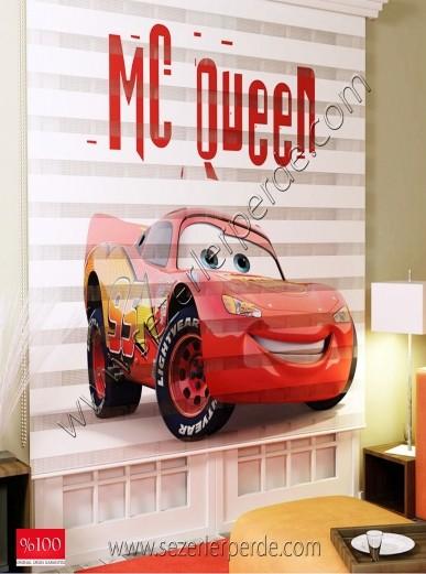 Poster Baskılı  Zebra Perde  SZR-1000 Şimşek Makkuin