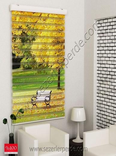 Poster Baskılı  Zebra Perde  SZR-1012