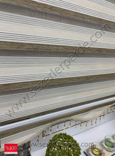 %25 İndirimli Bambu Lüx Zebra Perde Yeni Sezon  V-03