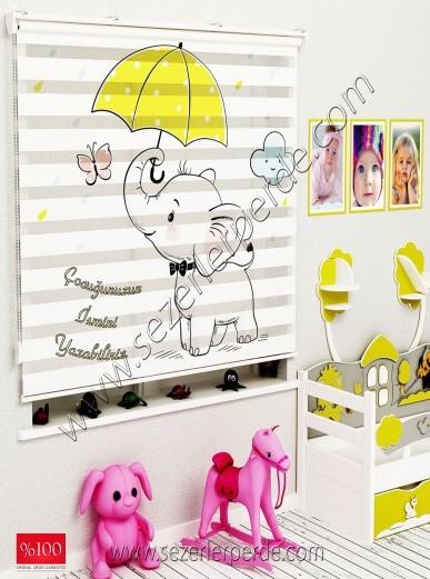 Poster Baskılı  Zebra Perde  SZR-1054