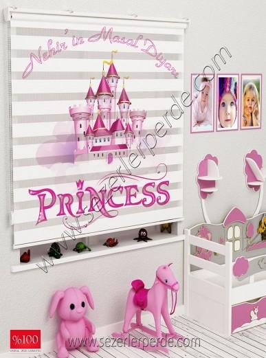 Poster Baskılı  Zebra Perde  SZR-1060 Princes