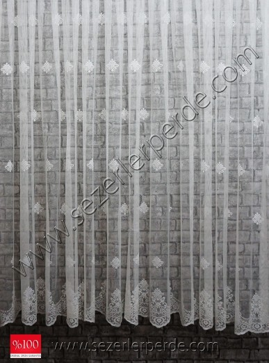 Tül Perde Örme Micro 243-E14