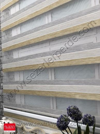 %25 İndirimli Bambu Lüx Zebra Perde Yeni Sezon  V-02