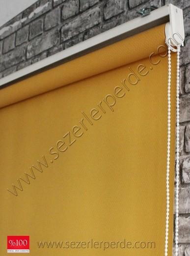 Screen Stor Perde Sarı