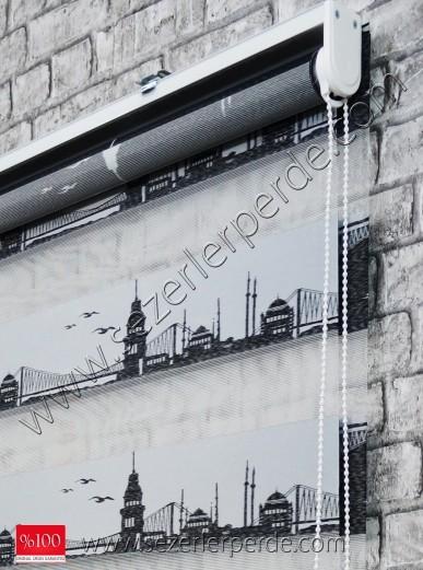Jakarlı Zebra Perde İstanbul