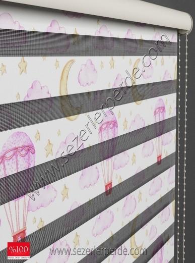 Baskılı Zebra Perde Desen 4052