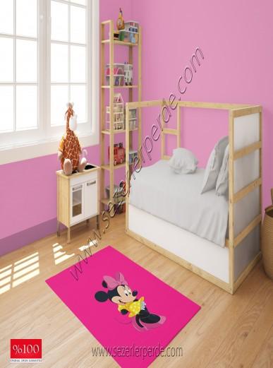 Brillant Baskılı Halı Yeni Sezon Micki Mouse 80x150